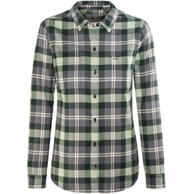 Royal Robbins Lieback Flannel LS Shirt Women Green Gables